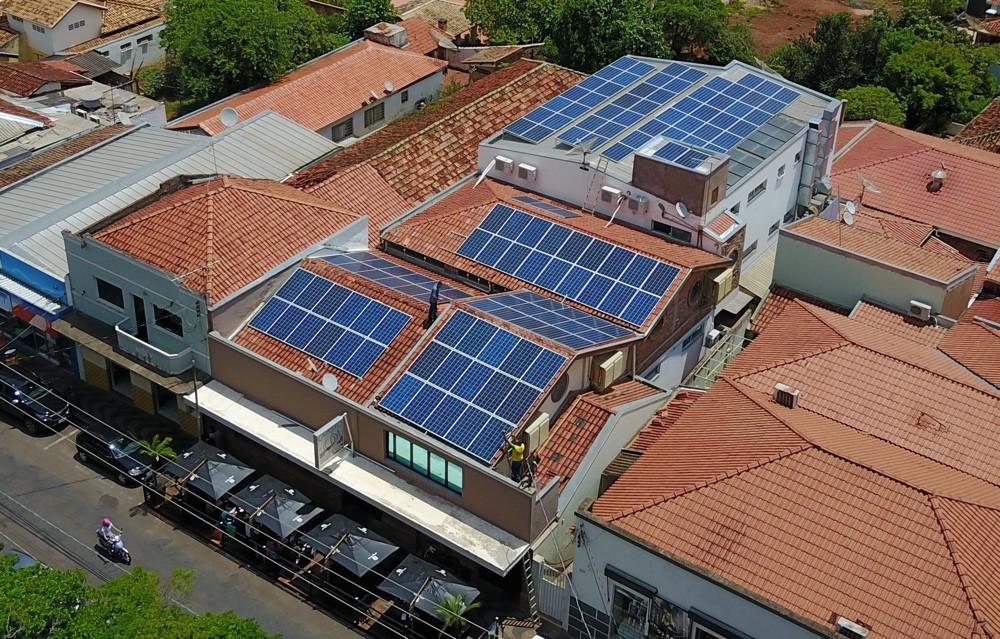 Energia Solar Fotovoltaica Brotas