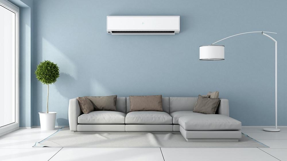 economizar energia com o aquecedor e ar condicionado