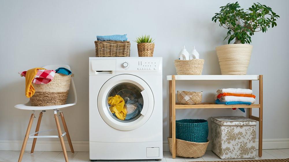 economizar energia na lavanderia