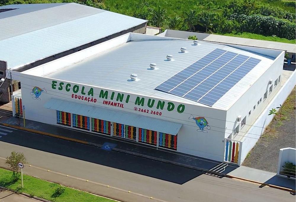Energia Solar Fotovoltaica Bariri Escola