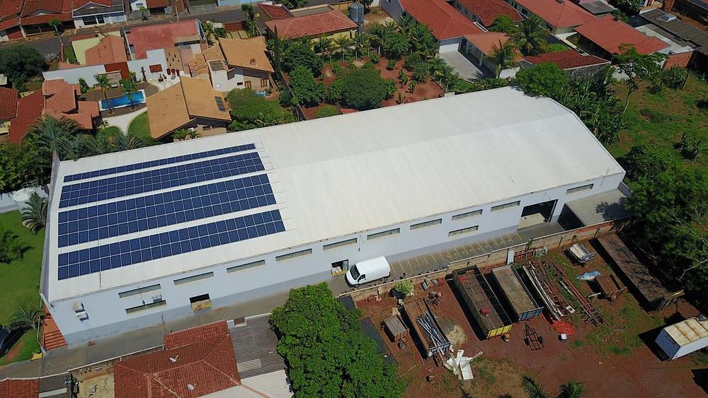 Sistema Fotovoltaico Kezo Bariri