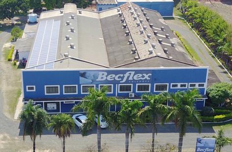 Becflex Colchões com Energia Fotovoltaica!