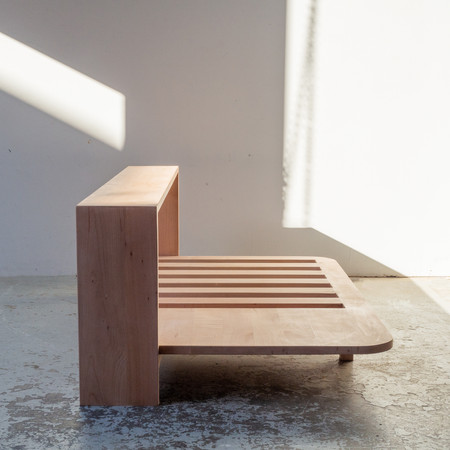 NZ beech sofa