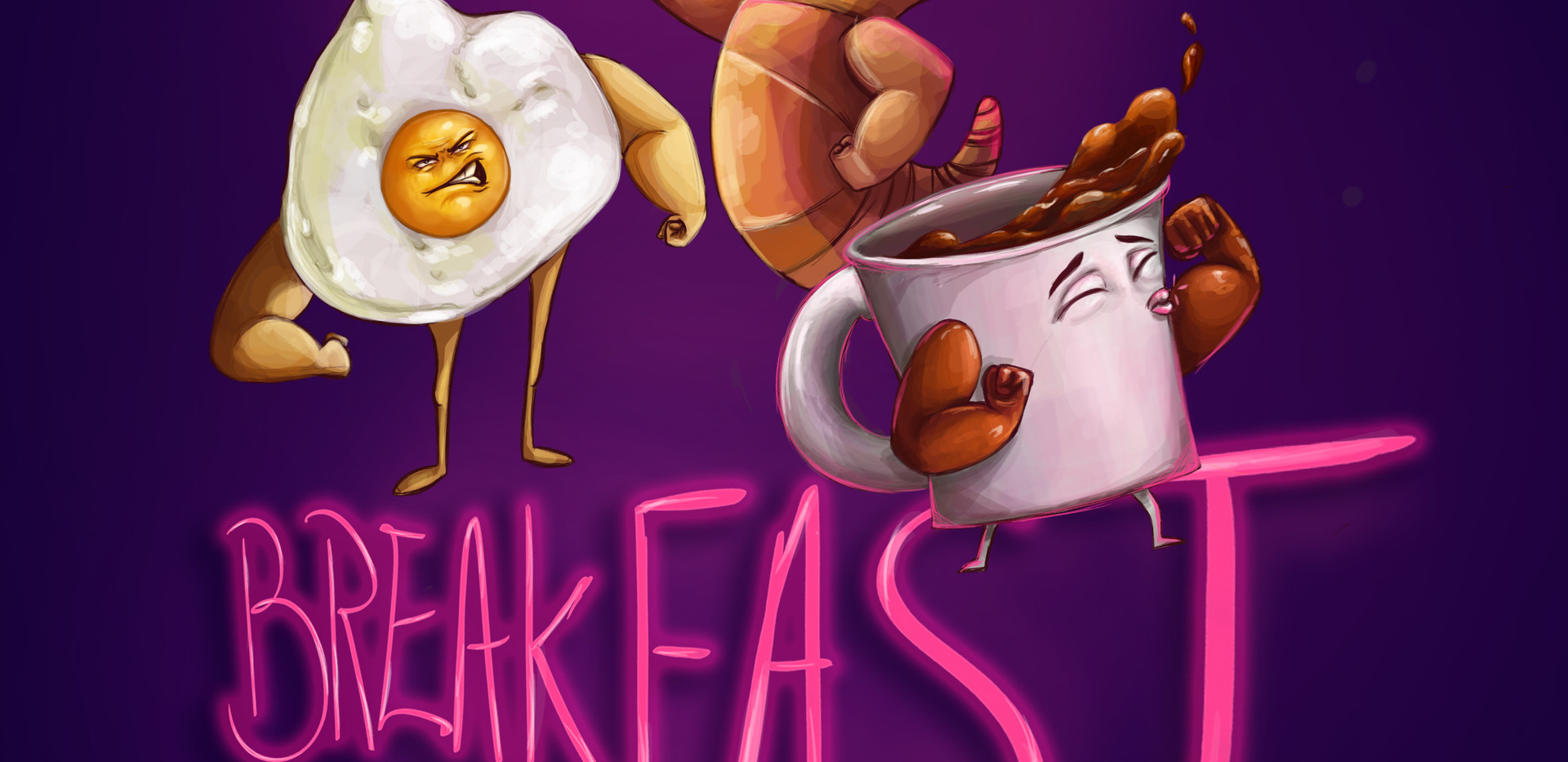 serious breakfast