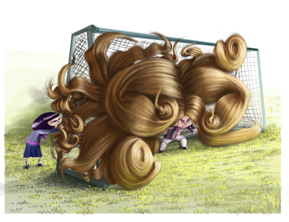 Claire's Hair Soccer