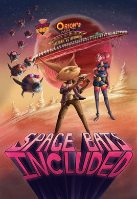 Space Bats Cover