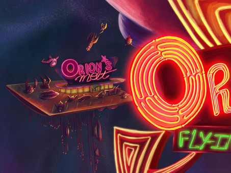 Welcome to Orion's Melt Fly in diner.