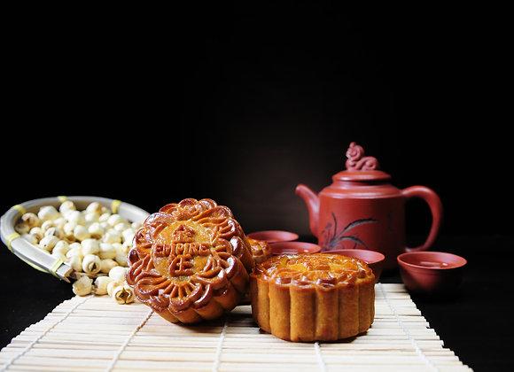 Prince Double Yolk Imperial Lotus Paste Mooncake