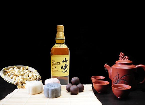Lady Chang'er Snow Skin Chuao Criollo infused 12 Year Yamazaki Whisky Mooncake