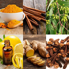-Reduces pain -Improves circulation -Reduces swelling -Improves skin -Natural antiseptic -Reduces arthritis pain -Revitalizes the body -Relaxes Muscles -Turmeric, Ginger, Lemon, Eucalyptus, Cloves, Cinnamon, and Rosemary Oils.