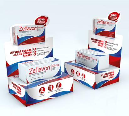 Pódium Zeflavon farmácias