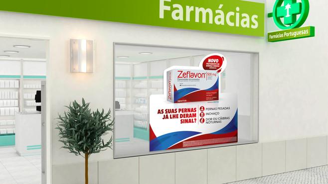 Montra farmácias Zeflavon