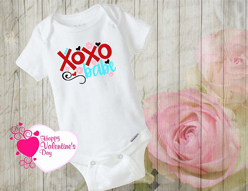 XOXO Babe Baby Bodysuit- 12 Months-Long Sleeve