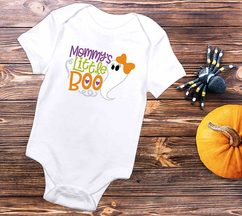 Mommy's Little Boo Baby Bodysuit- Baby Halloween Outfit