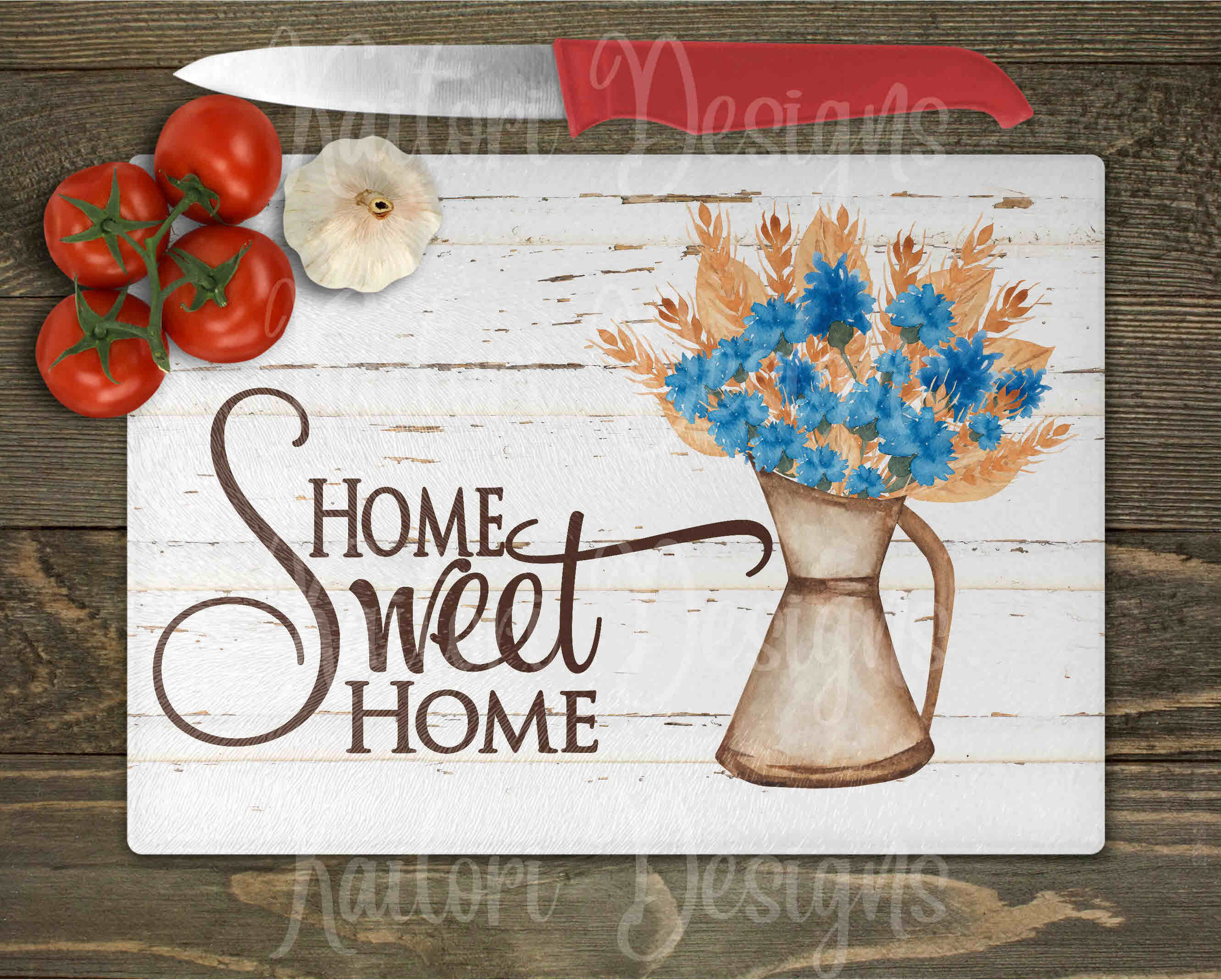 Home Sweet Home tin pitcher