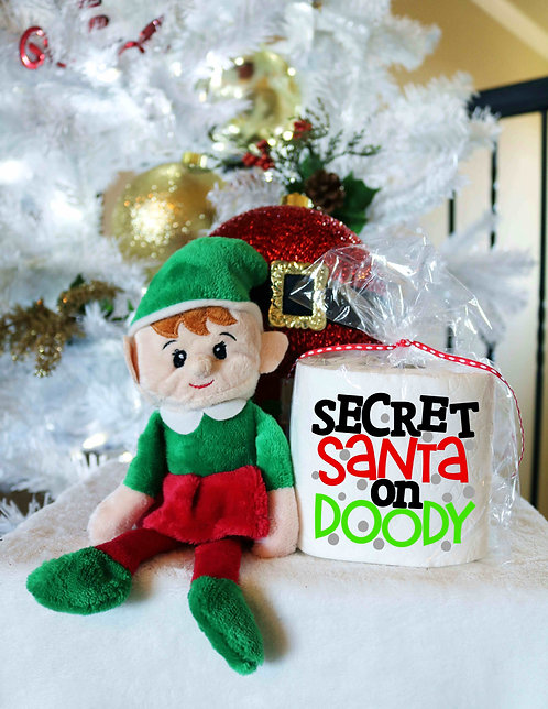 Toilet Paper Gag Gifts- Christmas Gag Gifts- Secret Santa On Doody