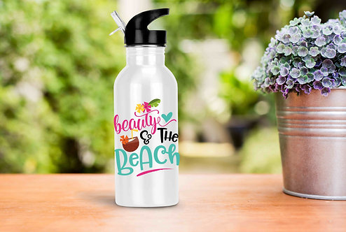 Beauty & The Beach 14oz Stainless Steel Water Bottle