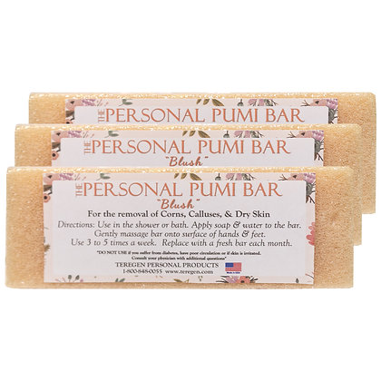 "The Personal Pumi Bar ""Blush"" 3-Pack"