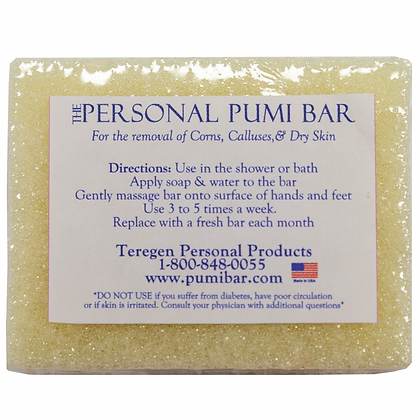 """The Personal Pumi 2.5"""" Bar"""