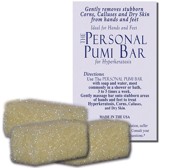 """10-Pack of 1"""" Size of The Personal Pumi Bar"""