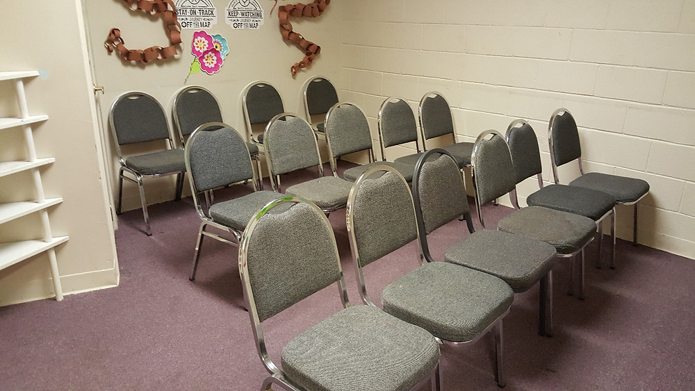Hoping someone will show up for Bible Study - it would help me feel a lot better.