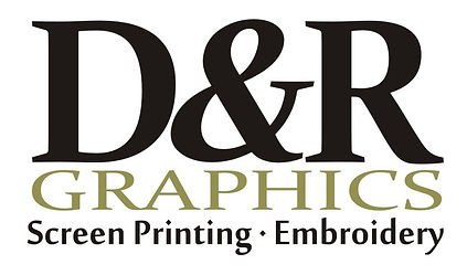 D and R Graphics, tee shirts, screen printing, embroidery