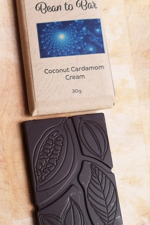 Bean to Bar Coconut Cardamon Cream