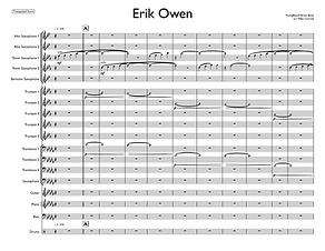 """Erik Owen"" arr. Mike Conrad"
