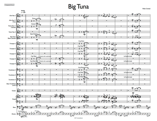 Big Tuna (bass trombone feature)