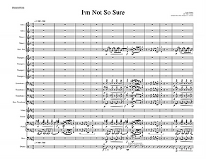 """I'm Not So Sure"" arr. Mike Conrad"