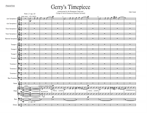 """Gerry's Timepiece"" by Mike Conrad"