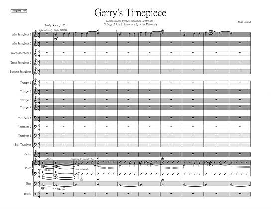 Gerry's Timepiece