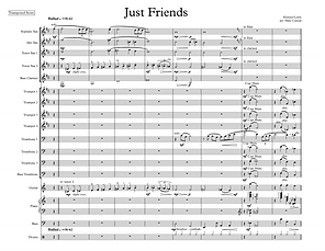 """Just Friends"" arr. Mike Conrad"