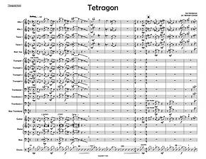 """""""Tetragon"""" arr. Mike Conrad"""