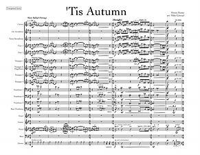 """""""'Tis Autumn"""" arr. Mike Conrad"""