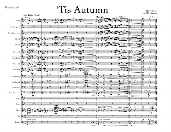 'Tis Autumn (vocal feature)
