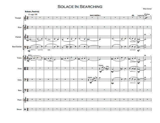 Solace in Searching (11-tet)