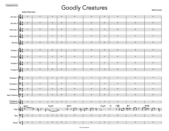 Goodly Creatures (piano feature)