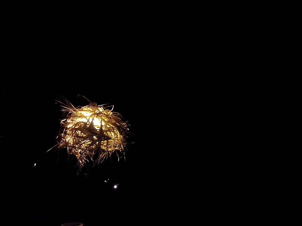 Natural Lamp Andanças 2016 Candeeiro Natural