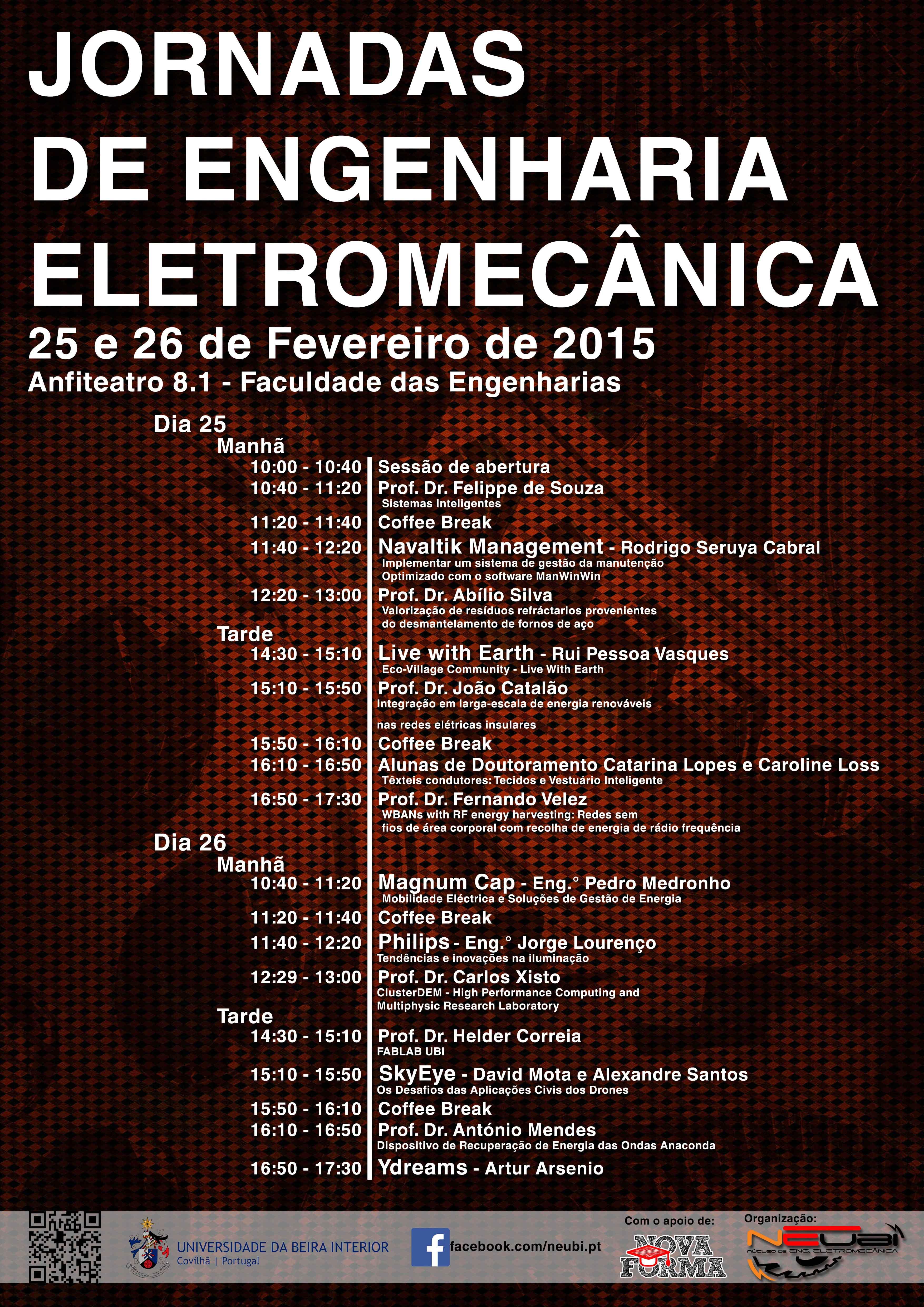 Jornadas Engenharia Eletromecânica