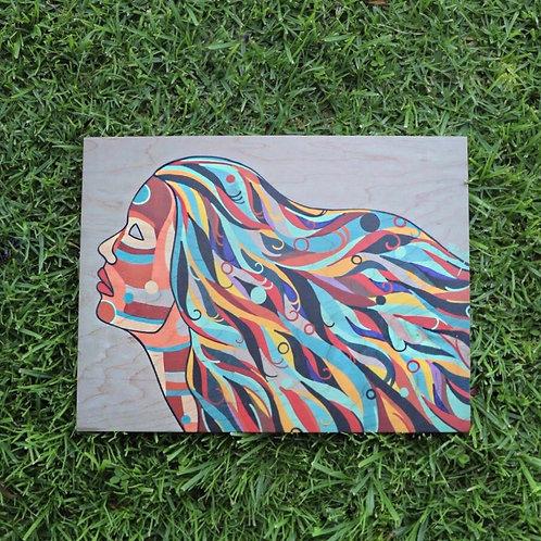 Eyes Wide Shut (Print on Wood)