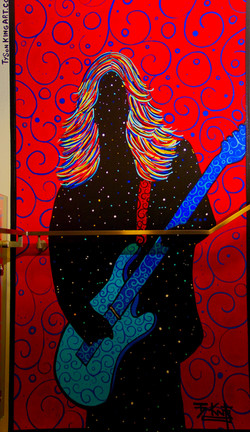 West Hollywood Rock and Roll Mural