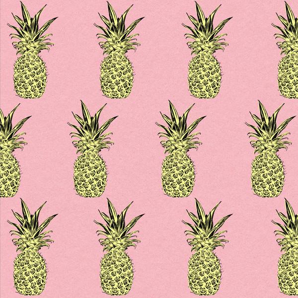 Pineapple Pattern, Pink