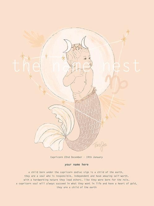 Capricorn - zodiac baby