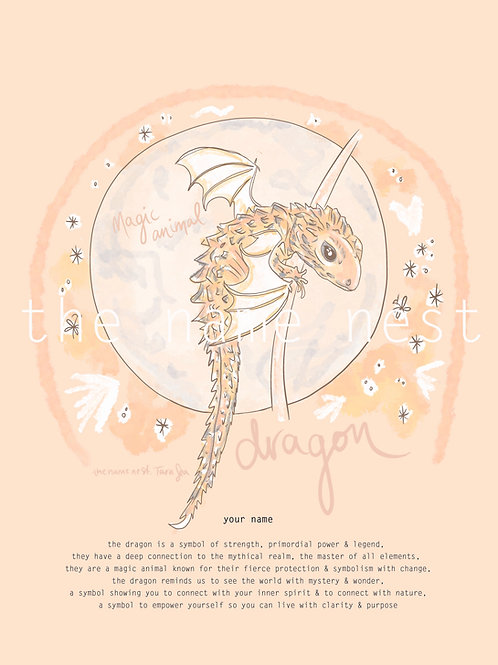 Dragon - magic animal