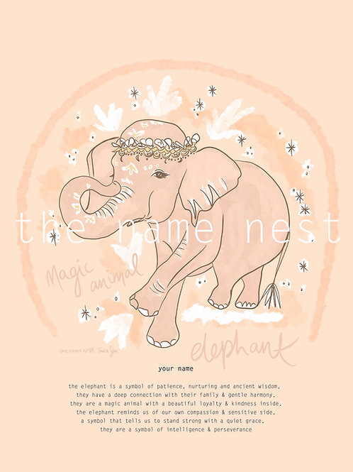 Elephant - magic animal