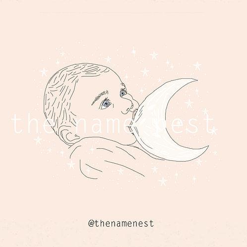breastfeeding moon