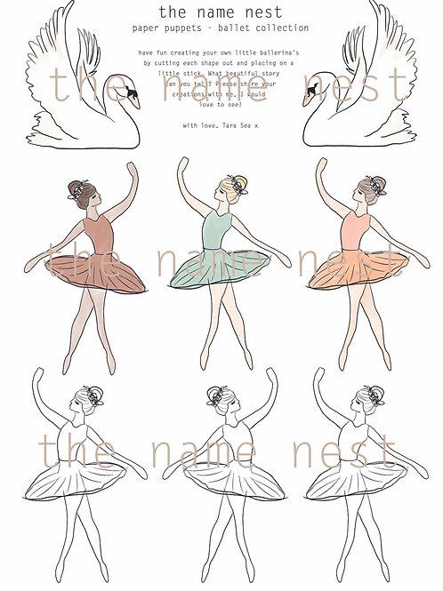paper puppets - ballet (digital version)