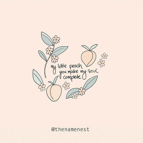my little peach