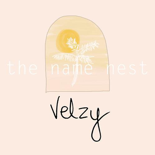 Velzy